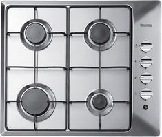 Baumatic 60cm Gas Hob in Stainless Steel with FSD