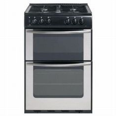 Newworld 55TWLG Freestanding 55cm wide cooker - stainless steel