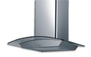 Focal Point STAINLESS & GLASS Cooker Hood 60cm