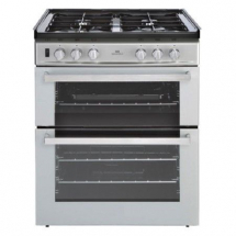 New World 600 DITC LPG Cooker Silver 444444217