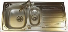 Sparta Linen, Stainless steel sink