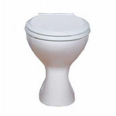 LECICO CLOSE COUPLED TOILET PAN WHITE