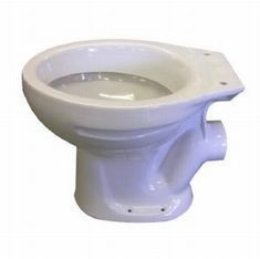 ATLAS LOW LEVEL TOILET PAN - WHITE