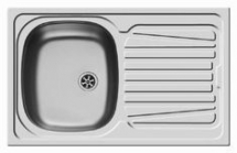 SPARTA STAINLESS STEEL SINK 79CM X 50CM