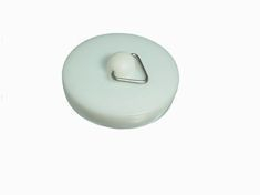 White PVC Bath Plug Pack of 2