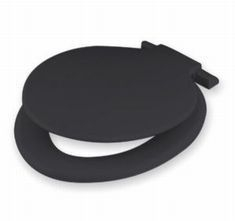 CALYPSO TOILET SEAT AND LID BLACK