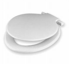 CALYPSO TOILET SEAT AND LID WHITE