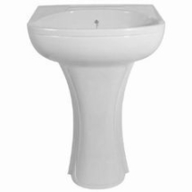 KINGSTON PEDESTAL FOR BA066 WHITE