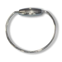 Caravan Towel Ring RB 2 in Chrome