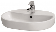 Cersanit Caspia Oval 600mm Sit on Basin