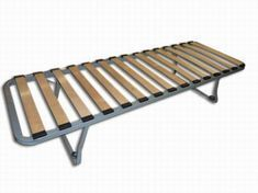 Single Bed Frame with folding legs 6ft x 2'3 - 1800mm x 675mm