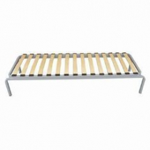 Single bed frame with fixed Duo Legs
