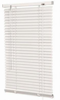 White aluminium venetian blind 750mm X 1200mm drop
