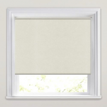 Cream PVC Roller Blind 610mm x 1150mm