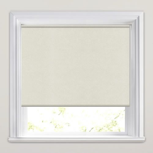 Cream PVC Roller Blind 575mm x 1050mm