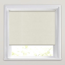 Cream PVC Roller Blind 900mm x 900mm