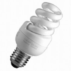 11W MINI SPIRAL LAMP ES 60W EQUIVALENT