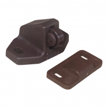 Plastic roller catch Brown
