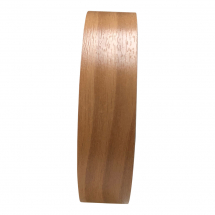 SELF ADHESIVE TRIM WALNUT 25MM X 10M