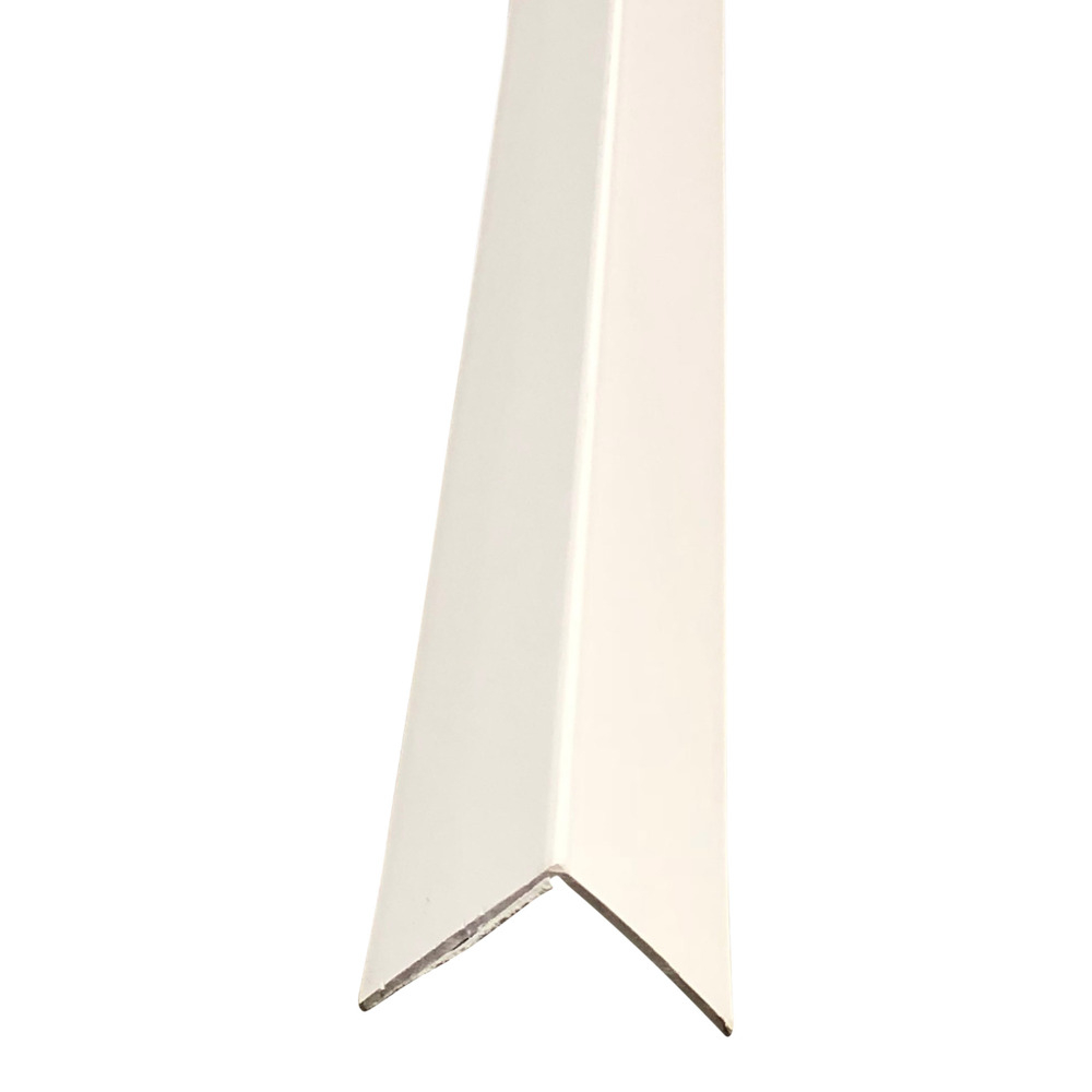 32mm x 32mm Plastic Angle Trim 2.44m White