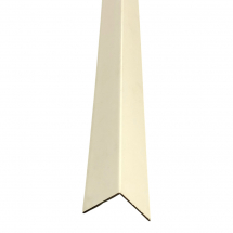 32mm x 32mm Plastic Angle Trim 2.44mm Cream