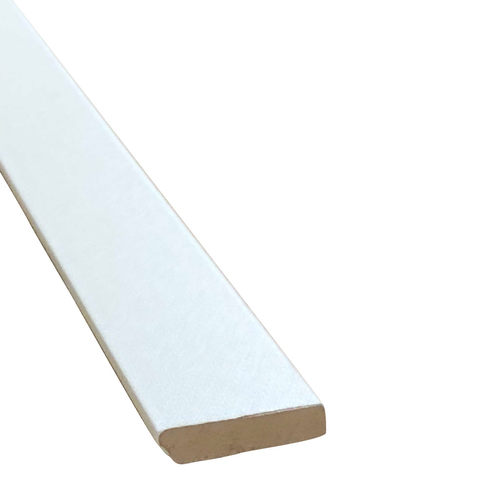 Durham Cream PVC Veneered Skirting 40 x 9 - 2440mm