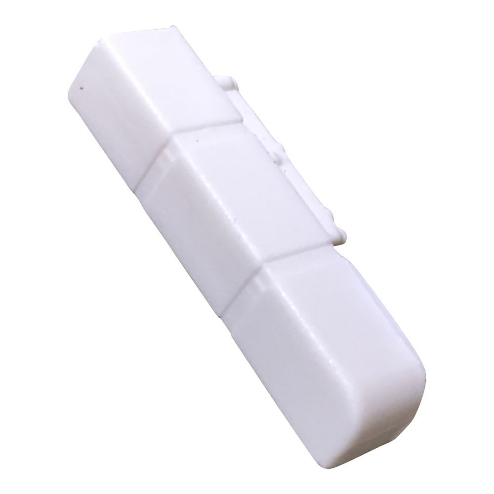 White Right Hand End Cap for Skirting/Coving CAP200