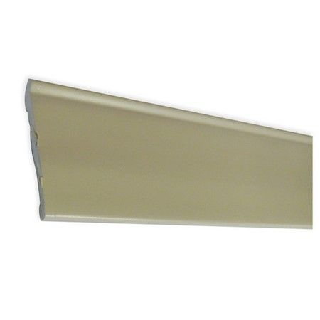 Self adhesive blown PVC 48mm skirting trim in Cream 2.5M