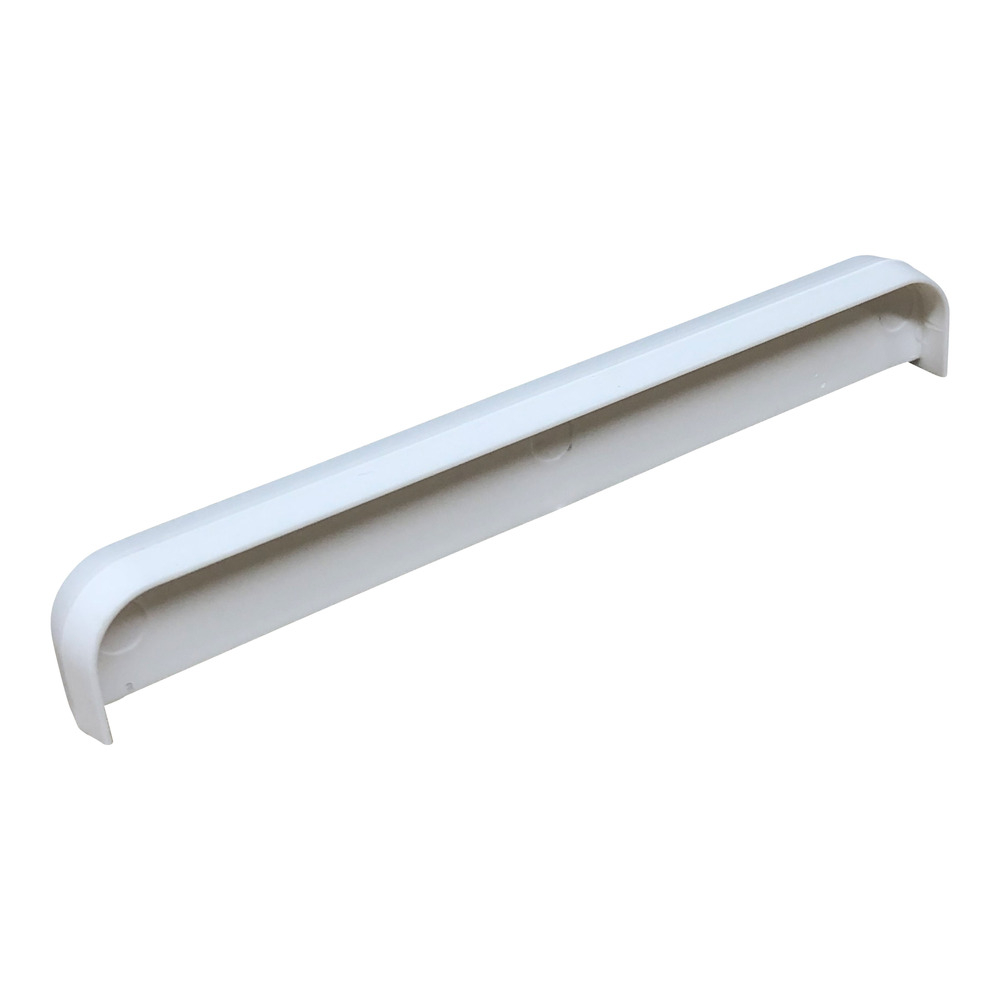 Internal Ridge Board Joining Cover Cap 115mm White