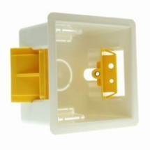Single Cavity Box 35mm - Single - White
