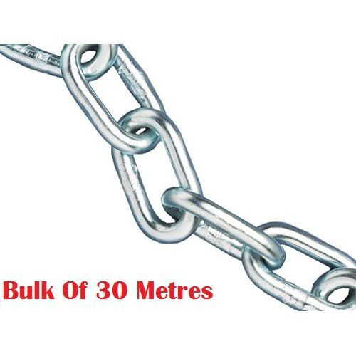 Heavy Duty 8mm Chain Bulk Of 30 Metres
