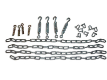 Complete Chain Down Kit For Concrete Base