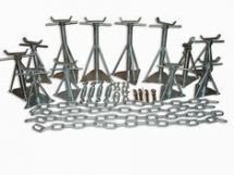 Complete Siting Kit for Concrete Base 12 Axel Pack