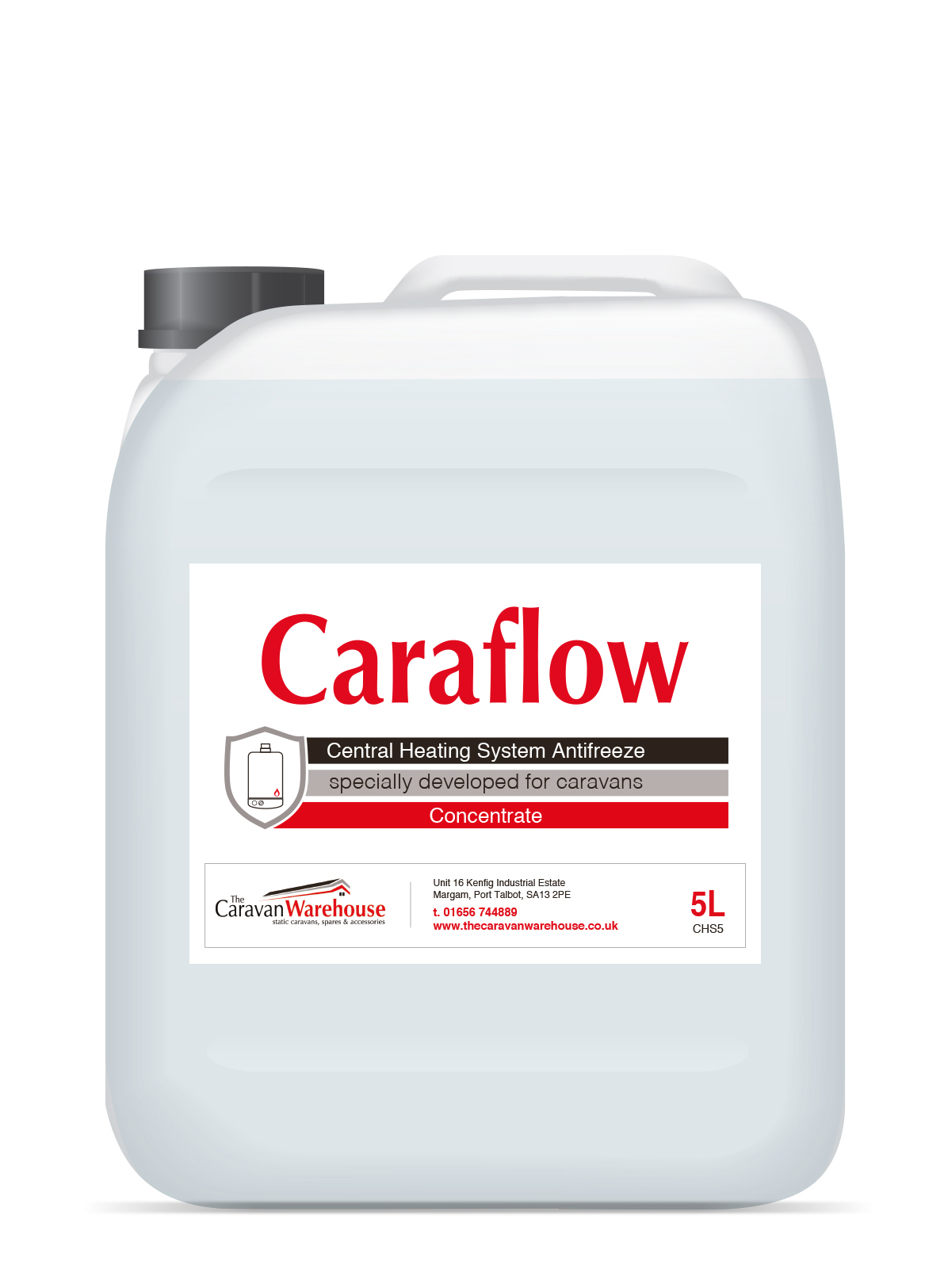 Caraflow CHS5 Central Heating Antifreeze & Inhibitor -50c