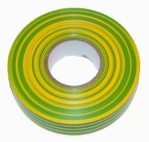 Insulating Tape 19mm x 33m Green & Yellow