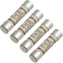 13Amp Fuses Pack of 4