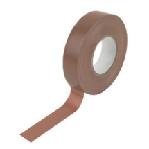 Insulating Tape 19mm x 33m Brown
