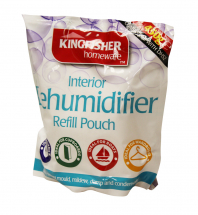 Dehumidifier refill pouches for Kingfisher Dehumidifier
