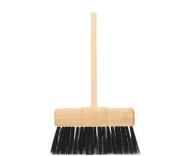 Pvc Yard Brush Complete Green Fill