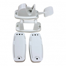 Caravan Trigger Release Door retaining catch - White