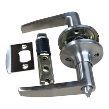 Satin Stainless Privacy Handle Set 22mm Latch