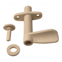Locking latch 40mm Cream