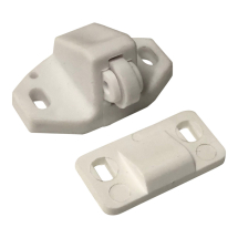 Plastic roller catch White