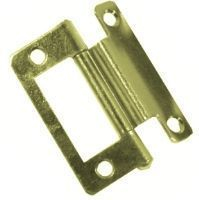 Cranked Flush Hinge 2inch BRASS