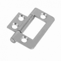 Flush Hinge - Zinc Plated 50mm