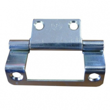 2inch Single Cranked Hinge Zinc