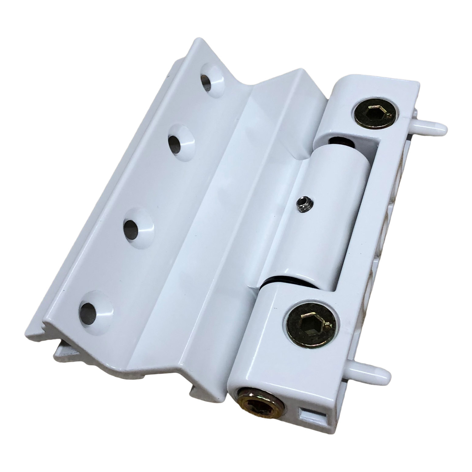 Stanway Rebated Butt Hinge White