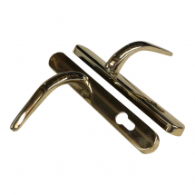 Eltherington Gold Door Handle Set CHLHDLDH312VG