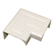 Stanway Door Corner Moulding Cap 38mm in White TD8634