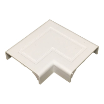 Stanway Door Corner Moulding Cap 53mm in White TD8636